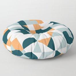 Mid Century Modern Geometric 22/2 Floor Pillow