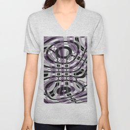 Abstract 360 Unisex V-Neck