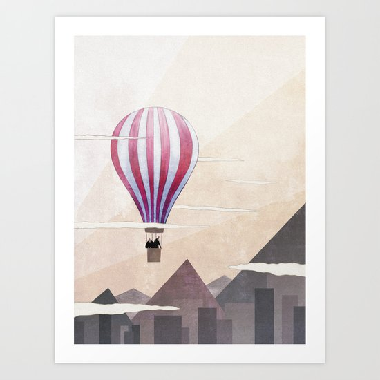 On the Rise Art Print