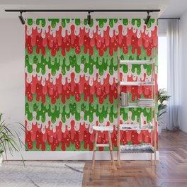 Christmas Slime Wall Mural