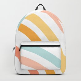 Rainbow State of Mind - pastel Backpack