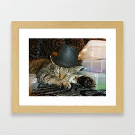 Putty on the Rits Framed Art Print