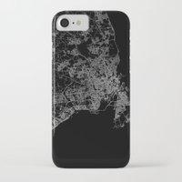 copenhagen iPhone & iPod Cases featuring Copenhagen by Line Line Lines