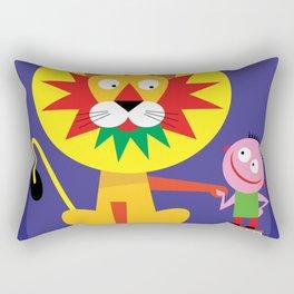 Friendly Lion Rectangular Pillow