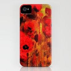 FLOWERS - Poppy reverie Slim Case iPhone (4, 4s)