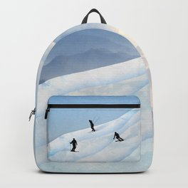 Skiing in Infinity Backpack