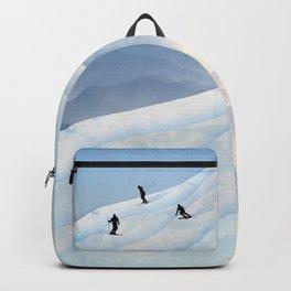 Skiing in Infinity Backpack