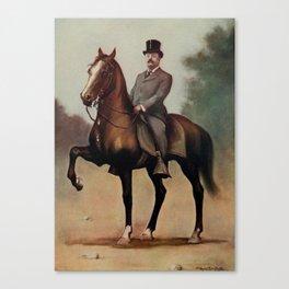 Campbell, V. Floyd (d.1906) - Theodore Roosevelt (1858-1919), president 1901-1909 Canvas Print