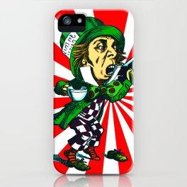 Mad Hatter Sunburst iPhone Case
