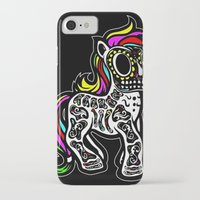 mlp iPhone & iPod Cases featuring Sugarskull MLP by BURPdesigns