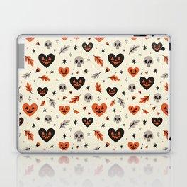 I Heart Fall Pattern Laptop & iPad Skin