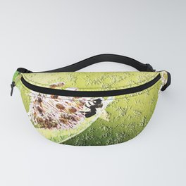 Blooming in the morning (granite) Fanny Pack