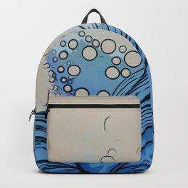 Cartoon Waves Backpack