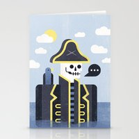 men Stationery Cards featuring Dead Men Tell No Tales by Chase Kunz