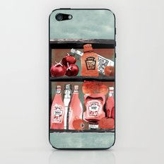 Ketchup Cabinet iPhone & iPod Skin