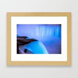 Blue Horseshoe Framed Art Print