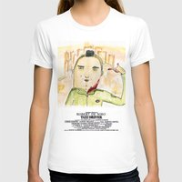 taxi driver T-shirts featuring Taxi Driver by Wakkala