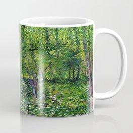 Vincent Van Gogh Trees & Underwood Coffee Mug