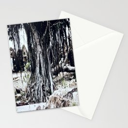 Tree Faces Stationery Cards