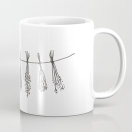 Drying Herbs Coffee Mug