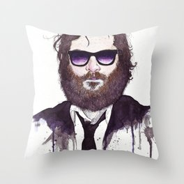 Joaquin Phoenix Throw Pillow