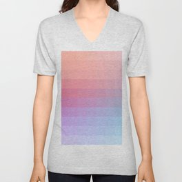 Lumen, Pink and Lilac Light Unisex V-Neck