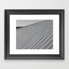 Ripples of Sand Framed Art Print
