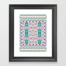 Geo Tribal Framed Art Print