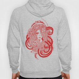 Rose Red.  Hoody
