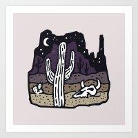 arizona Art Prints featuring Arizona by WEAREYAWN