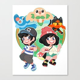 Trainers Ready to Battle Canvas Print