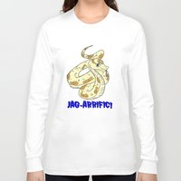 sassy Long Sleeve T-shirts featuring sassy snake  by PyroDarknessAnny