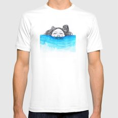 Immersion Mens Fitted Tee White MEDIUM