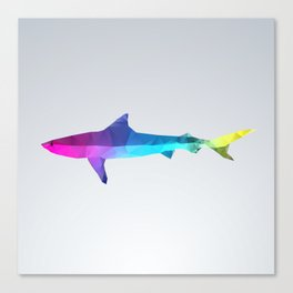 Glass Animal Series - Shark Canvas Print