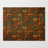 african Canvas Prints featuring African by Arcturus