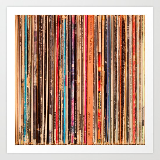 33-1/3 RPM Art Print