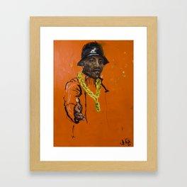 Keepin it Gangster (MLK) Framed Art Print
