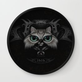 Isis the cat Wall Clock