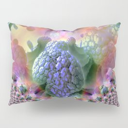 Fractal Berry Heart Pillow Sham