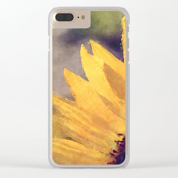 Another sunflower - Flower Flowers Summer Clear iPhone Case