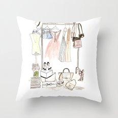 Closet Throw Pillow