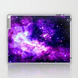 Purple Galaxy : Celestial Fireworks Laptop & iPad Skin