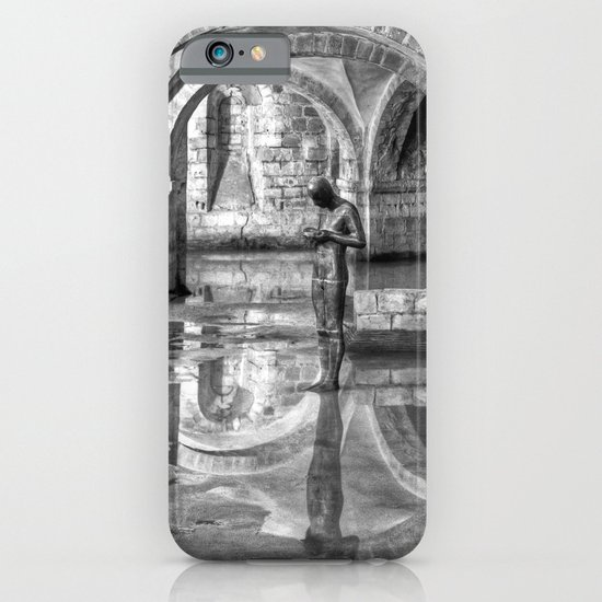 Winchester Cathedral Crypt - Black and White iPhone & iPod Case
