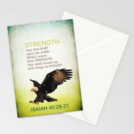 EAGLE WINGS Stationery Cards