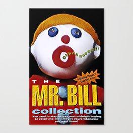 Mr. Bill - Graphic 1 Canvas Print