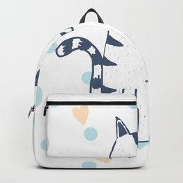 CAT #ON WHITE Backpack