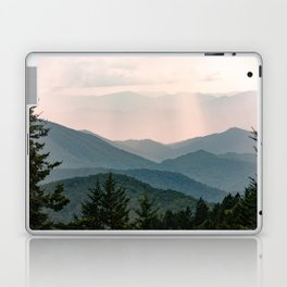 Smoky Mountain Pastel Sunset Laptop & iPad Skin