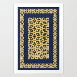 Tile Floor Art Print