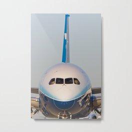 Boeing 787 Dreamliner Metal Print