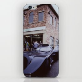 Car by comic shop iPhone Skin